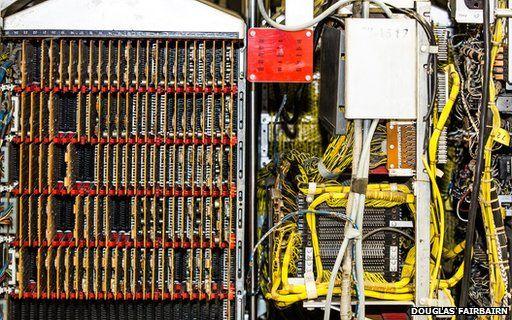Inside of IBM 1401