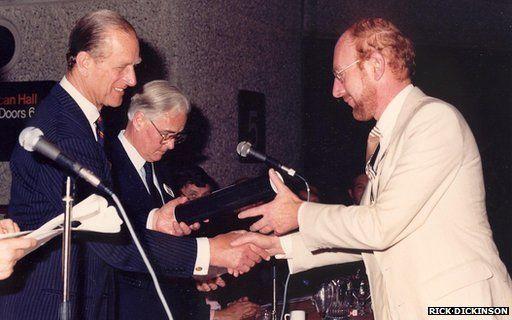 Sir Clive Sinclair and the Duke of Edinburgh