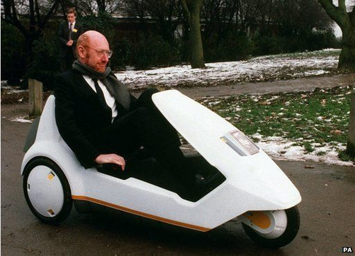 Sir Clive Sinclair and C5