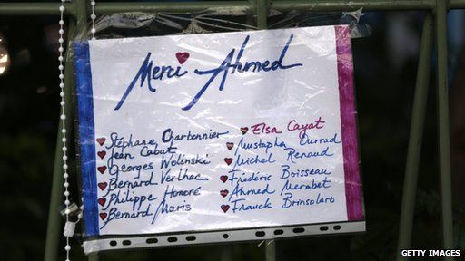Notice to Ahmed Merabet