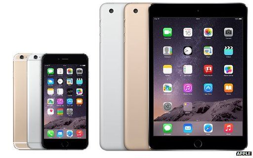 iPad Mini 3 and iPhone 6 Plus