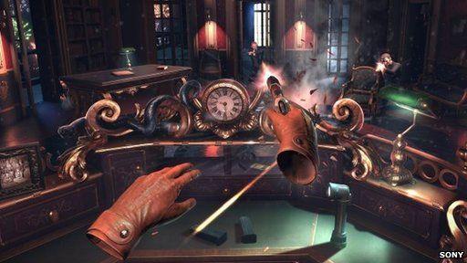 Sony virtual reality game