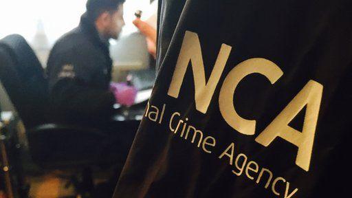 NCA raid