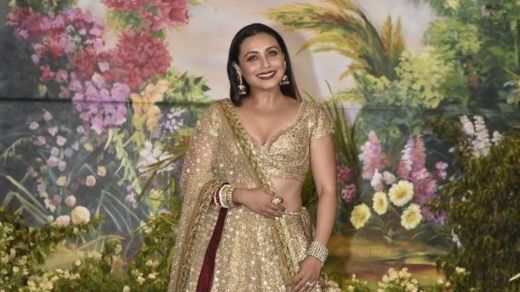 Rani Mukherjee a wajen bikin Sonam Kapoor