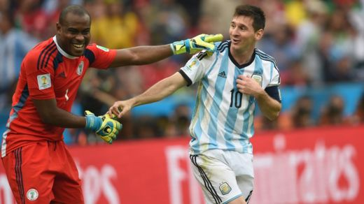 Messi and Enyeama