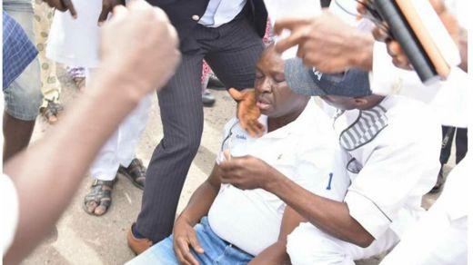 Gwamnan jihar Ekiti Ayodele Fayose