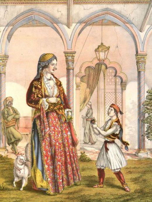 سلطنت عثمانیہ میں اعلیٰ طبقے کی ایک ترک عورت