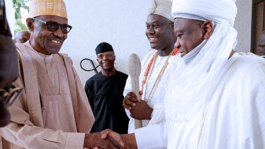 Buhari ya gana da sarakunan gargajiya a fadarsa da ke Abuja