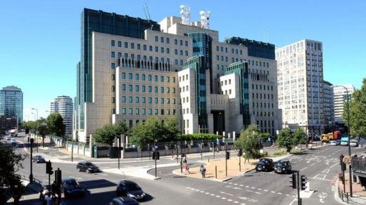 The MI6 building in Vauxhall Cross