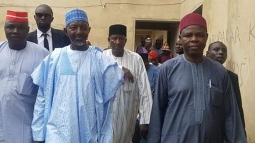 Takai da shugaban riko na PDP a Kano Rabiu Sulaiman Bichi dan Kwankwasiyya