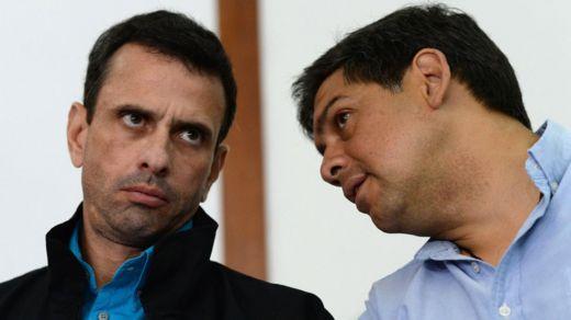 Henrique Capriles y Carlos Ocariz.