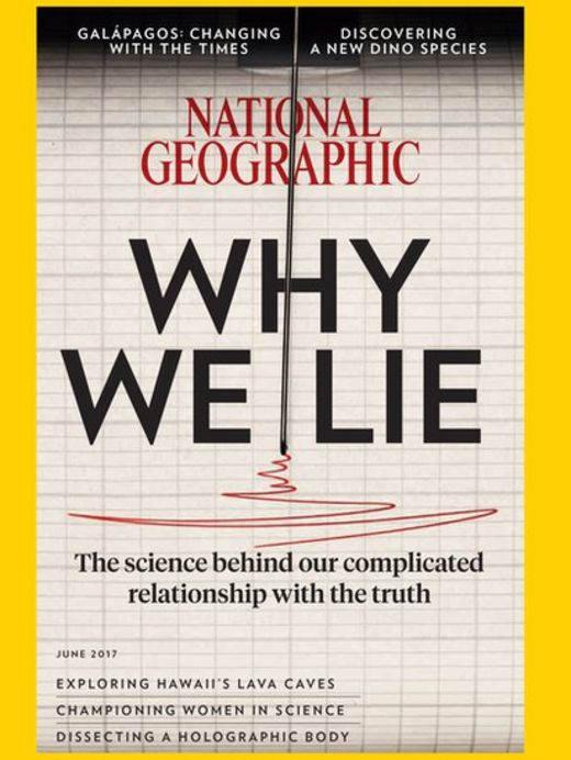 Portada de junio de National Geographic