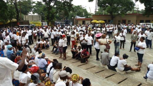 Catholics also don gather for Lagos to ready for di peaceful protest