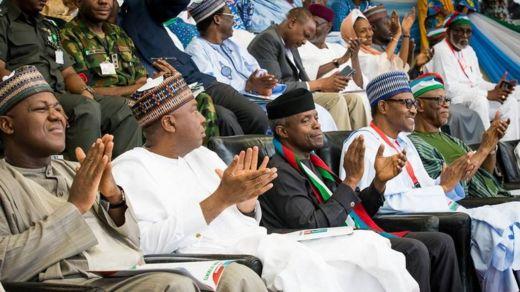 Hon. Yakubu Dogara da Sanata Bukola Saraki sun halarci babban taron jam'iyyar APC a Abuja