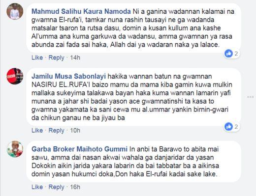 Ra'ayoyin jama'a a Facebook