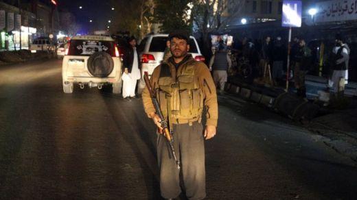 Afghan soldier at Kabul hospital