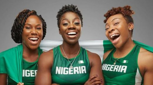 Nigeria's bobsled team