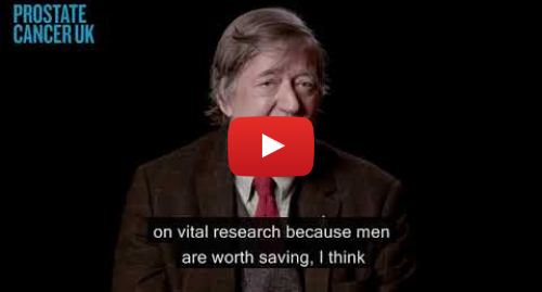 Youtube post by Prostate Cancer UK: Stephen Fry | Men, we are with you