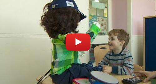 Publicación de Youtube por BBC News Mundo: ¿Este robot ayuda a niños con autismo? Véalo usted mismo