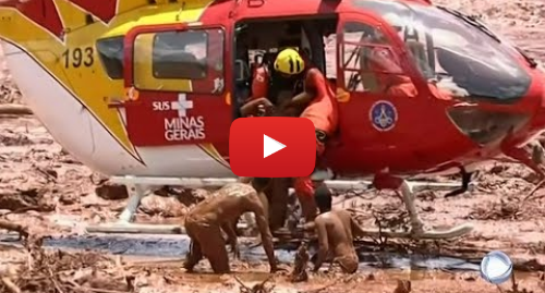 Publicación de Youtube por BBC News Mundo: El espectacular  rescate de una sobrevivientes del desastre de la presa de Brumadinho