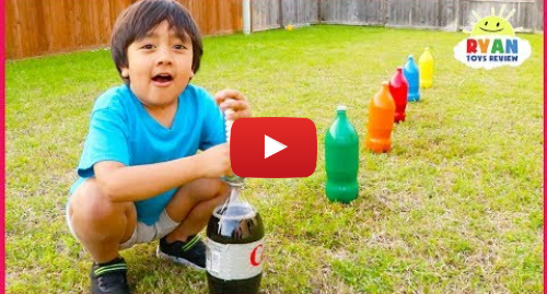 Publicación de Youtube por Ryan ToysReview: Top 10 Science Experiments you can do at home for kids with Ryan ToysReview!