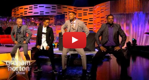 youtube post by the graham norton show will smith alfonso ribeiro and dj jazzy - fortnite fresh music
