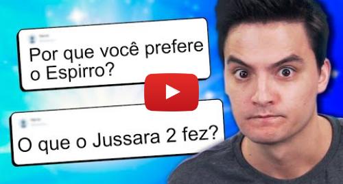 Publicación de Youtube por Felipe Neto: RESPONDENDO PERGUNTAS COM TODA A VERDADE!
