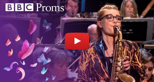 Last Night Of The Proms Saxophonist Jess Gillam Steals The Show