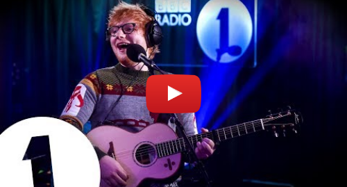a3ac4f8c5eaa4 Youtube post by BBC Radio 1  Ed Sheeran - Perfect in the Live Lounge
