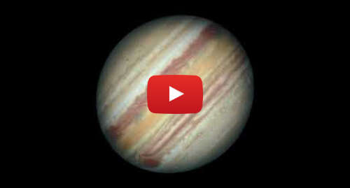 Publicación de Youtube por NASA Video: Hubble View of Jupiter  Rotation