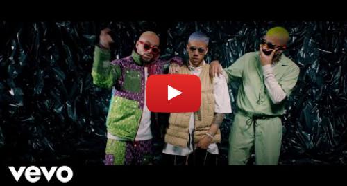 Publicación de Youtube por JhayCortezVEVO: Jhay Cortez, J. Balvin, Bad Bunny - No Me Conoce (Remix)