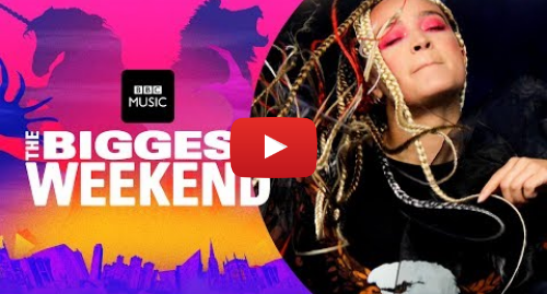 Youtube post by BBC Music: Connie Constance - Let Go (The Biggest Weekend)