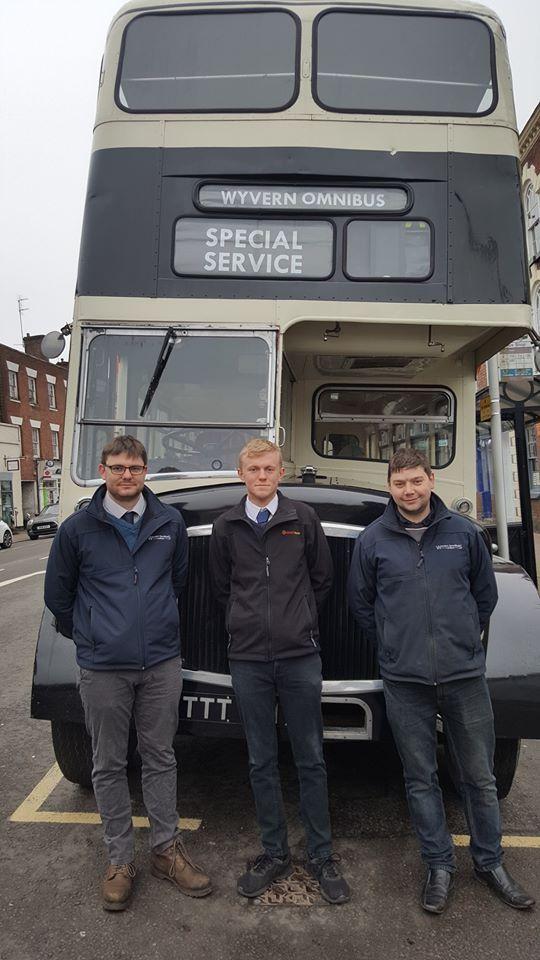 The vintage bus service