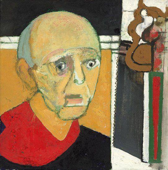 Self portrait by William Utermohlen