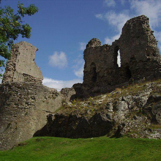 Montgomery Castle, Powys