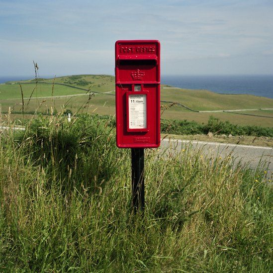 Postbox in Helmsdale
