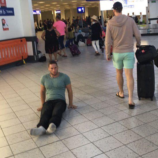 Justin Levene Luton airport