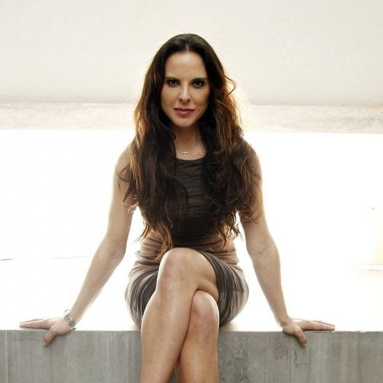 Mexican actress Kate del Castillo poses for a portrait in Los Angeles