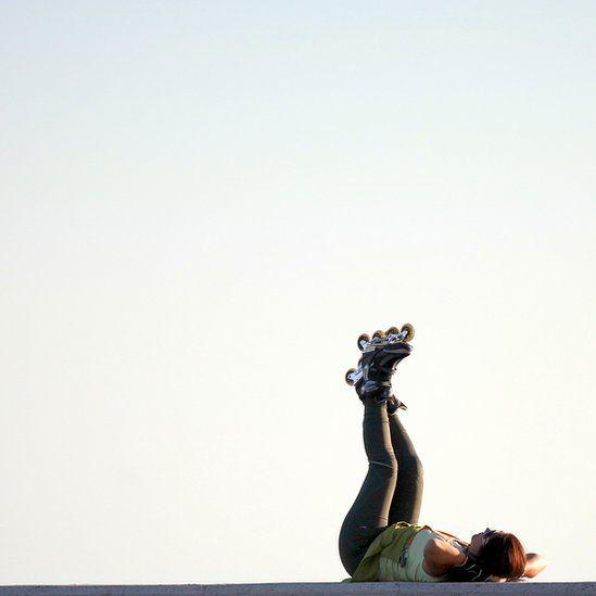 Skater in El Campello, Spain