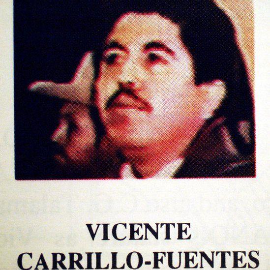 A DEA-supplied photograph of Vicente Carrillo Fuentes Mexico December 7, 1999