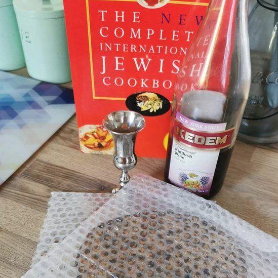 Bwyd traddodiadol Seder