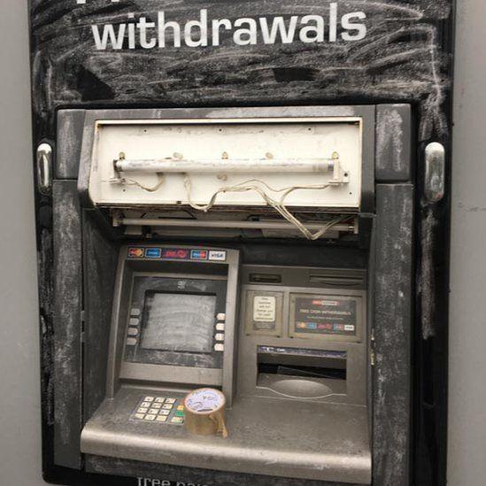 ATM damage