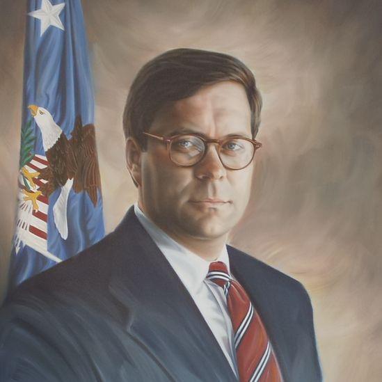 Portrait of Barr