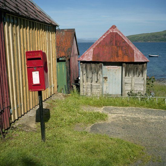Postbox in Applecross