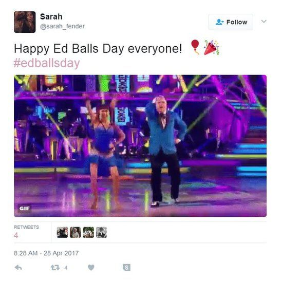 Happy Ed Balls Day everyone!