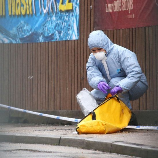 Romford crime scene