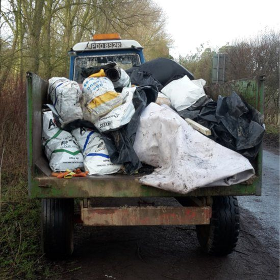 Tractor load of rubbish