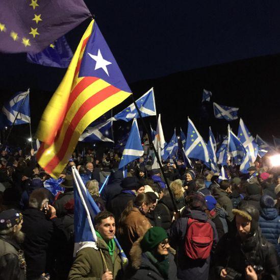 Missing EU Already rally in Edinburgh