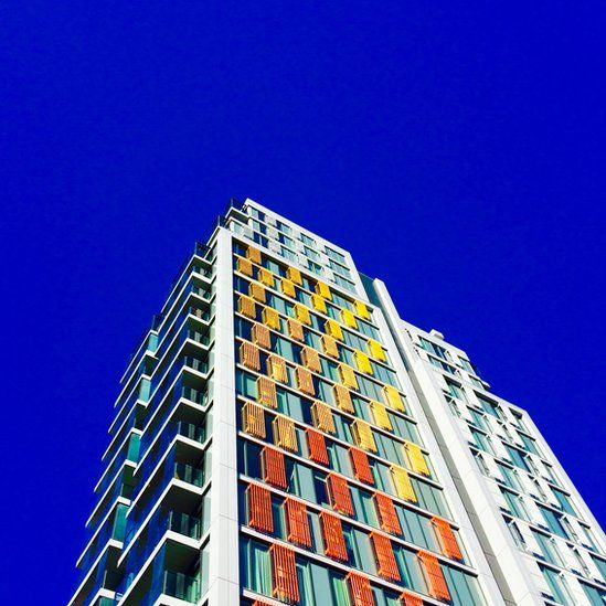 An apartment block in Wandsworth, London