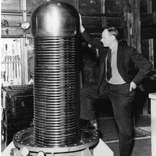 Photo of John Trump at MIT